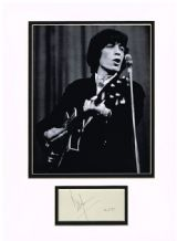 Bill Wyman Autograph Signed - Rolling Stones